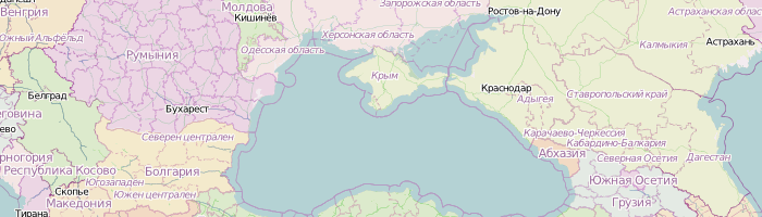 Crimea in Russian colors (not in OSM data though)